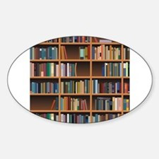 Bookshelf Decal