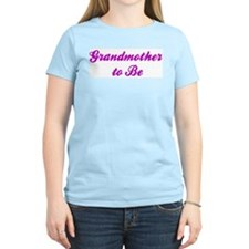 Grandmother to Be Women's Pink T-Shirt