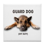 Guard Dog Tile Coaster
