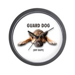 Guard Dog Wall Clock