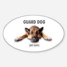 Guard Dog Decal