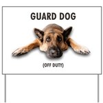 Guard Dog Yard Sign