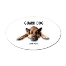 Guard Dog Wall Decal