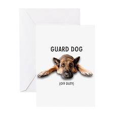 Guard Dog Greeting Card