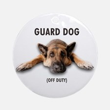 Guard Dog Ornament (Round)