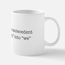 Antecedent lover Mug