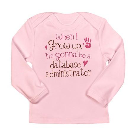Future Database Administrator Long Sleeve Infant T