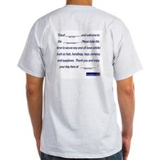 Human Ride Spiel Ash Grey T-Shirt