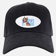 I Love My Pit Bull Baseball Hat