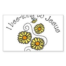 I Bee-long To Jesus Decal