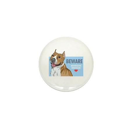 Aggressive Snuggler Mini Button (10 pack)