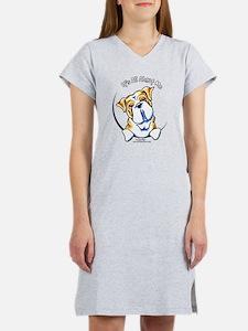 English Bulldog IAAM Women's Nightshirt