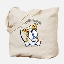 English Bulldog IAAM Tote Bag