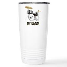 Drum For Christ Travel Mug
