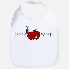 Book Worm Bib