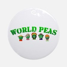 World Peas Ornament (Round)