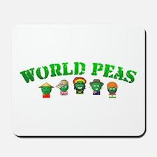 World Peas Mousepad