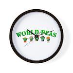 World Peas Wall Clock