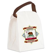 California diamond.png Canvas Lunch Bag