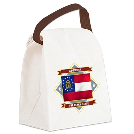 Georgia diamond.png Canvas Lunch Bag