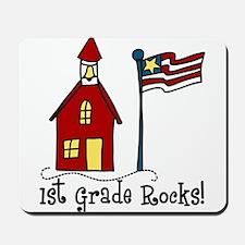 1st Grade Rocks Mousepad