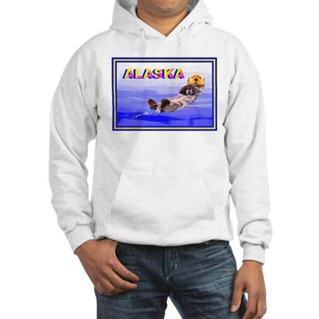 Alaskan Sea Otter Hooded Sweatshirt