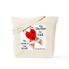 Tabby Ribbon Tote Bag