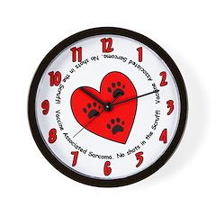 VAS Vet Office Awareness Wall Clock