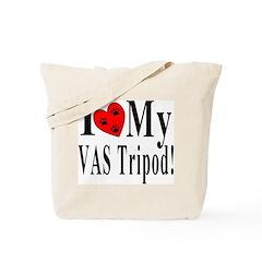 I Love My VAS Tripod Tote Bag