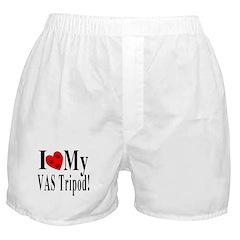 I Love My VAS Tripod Boxer Shorts