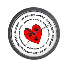 VAS awareness Wall Clock