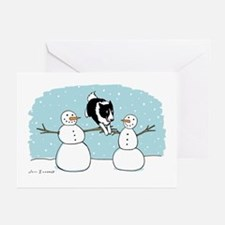 Border Collie Holiday Greeting Cards (Pk of 10)