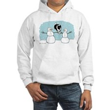 Border Collie Holiday Hoodie