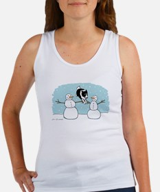 Border Collie Holiday Women's Tank Top