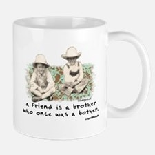A Friend is a Brother Mug