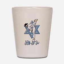 Jew Jitsu Shot Glass