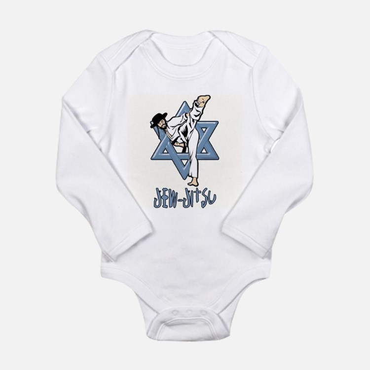 Jew Jitsu Long Sleeve Infant Bodysuit