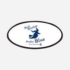 Blue Witch Patches