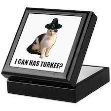 Thanksgiving Turkey Lolcat Keepsake Box