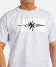 Double Dagger Ash Grey T-Shirt
