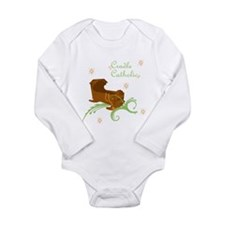 unisex cradle catholic Body Suit