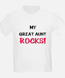 My GREAT AUNT ROCKS! T-Shirt