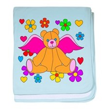 Angel Bear baby blanket
