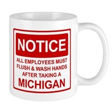 Flush Michigan Mug