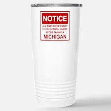 Flush Michigan Stainless Steel Travel Mug