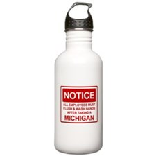 Flush Michigan Water Bottle