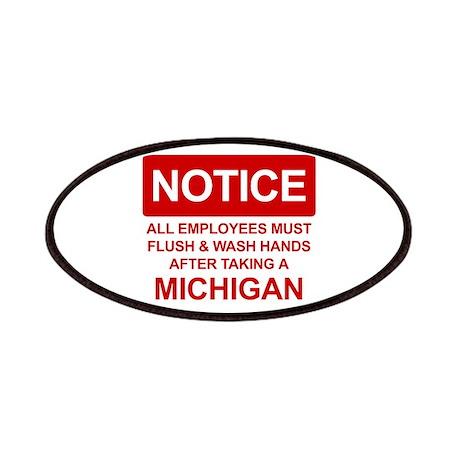 Flush Michigan Patches