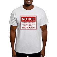 Flush Michigan T-Shirt