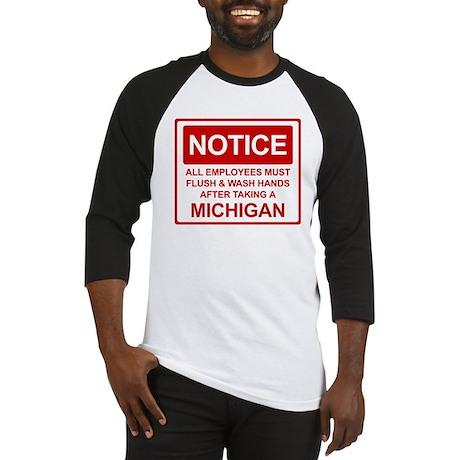 Flush Michigan Baseball Jersey