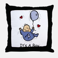 Cool New birth Throw Pillow